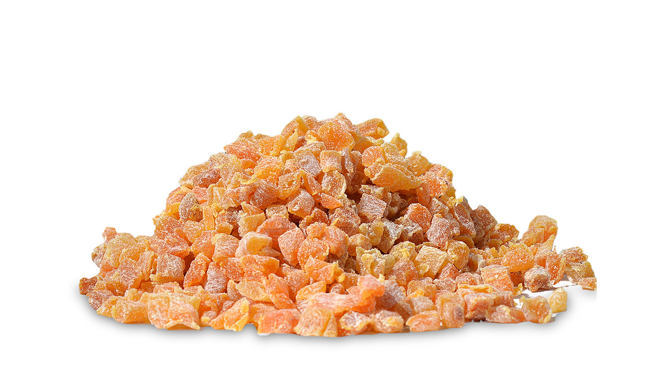 Diced-dried-apricot